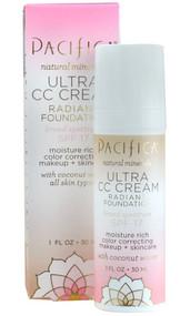 Pacifica, Ultra CC Cream Radiant Foundation - Warm-Light - 1 fl oz