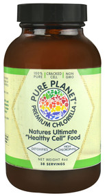 Pure Planet Premium Chlorella Powder -- 4 oz