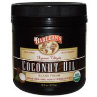 Barleans, Organic Virgin Coconut Oil, 16 fl oz (473 ml)