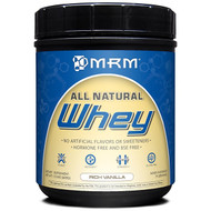 MRM Natural Whey Protein Powder Rich Vanilla -- 1.01 lb