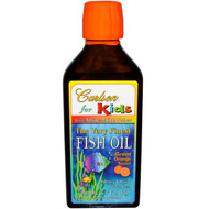 Carlson Labs, Kids,Norwegian, The Very Finest Fish Oil, Natural Orange Flavor, 6.7 fl oz (200 ml)