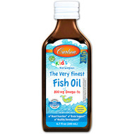 Carlson Labs, Kids, Norwegian, The Very Finest Fish Oil, Natural Lemon Flavor, 6.7 fl oz (200 ml)