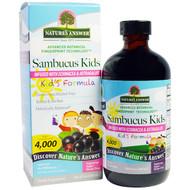 Natures Answer, Sambucus Kids Formula, 4,000 mg, 8 fl oz (240 ml))
