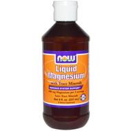 Now Foods, Liquid Magnesium with Trace Minerals, 8 fl oz (237 ml)