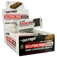 NuGo Nutrition, NuGo Free, Gluten Free, Dark Chocolate Crunch, 12 Bars, 1.59 oz (45 g) Each