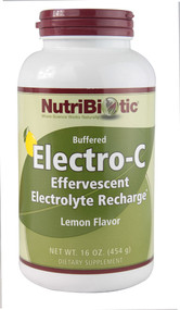 NutriBiotic, Immunity, Lemon Electro-C Powder, 16 oz (454 g)