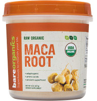 BareOrganics Maca Root Powder Raw - 8 oz
