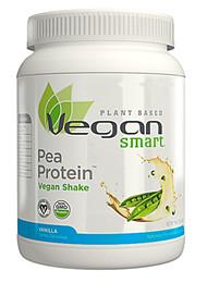 VeganSmart, Pea Protein Vegan Shake, Vanilla, 19 oz (540 g)