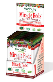 Macro Life Naturals Miracle Reds Berry - 12 Packets