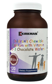 Kirkman Children's Chewable Calcium with Vitamin D3 Chocolate Wafer - 120 Wafers