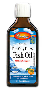 Carlson The Very Finest Fish Oil Orange - 6.7 fl oz