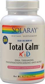 Solaray Total Calm Kid Sugar Free Drink Mix Strawberry Lemonade - 6.2 oz