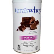 Tera's Whey rBGH Free Whey Protein Dark Chocolate Cocoa - 12 oz