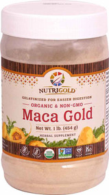 NutriGold Maca Gold Powder - 1 lb