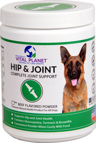 Vital Planet Hip & Joint For Dogs Powder Beef -- 3.92 oz