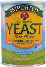 KAL, Imported, Nutritional Yeast, Fine Flakes, 14.8 oz (420 g)