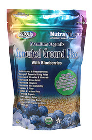 Sprout Revolution Organic Sprouted Ground Flax Blueberry - 16 oz