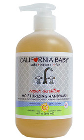California Baby, Wash Up Moisturizing Handwash No Fragrance - 19 fl oz