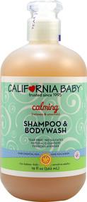 California Baby, Calming Shampoo and Bodywash French Lavender - 19 fl oz
