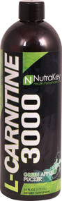 NutraKey L-Carnitine 3000 Green Apple Pucker - 16 fl oz
