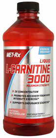 MET-Rx Liquid L-Carnitine 3000 Natural Watermelon - 16 fl oz