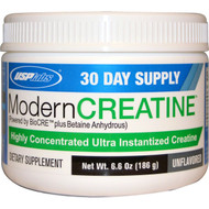 USP Labs, Modern Creatine, Unflavored, 6.6 oz (186 g)