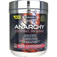 Muscletech, Anarchy, Pre-Workout, Pink Lemonade, 5.41 oz (153 g)