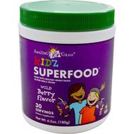 Amazing Grass, Kidz Superfood, Wild Berry Flavor, 6.5 oz (180 g)