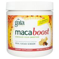 Gaia Herbs, Maca Boost, Real Cacao-Ginger, 8 oz (227 g)