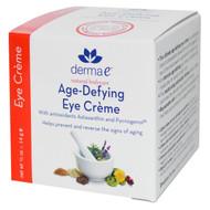 Derma E, Age-Defying Eye Creme, 1/2 oz (14 g)