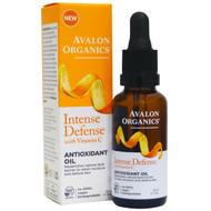 Avalon Organics, Intense Defense with Vitamin C, Antioxidant Oil, 1 fl oz (30 ml)