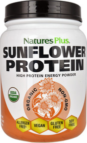 Natures Plus, Organic Sunflower Protein, 1.22 lbs (555 g)