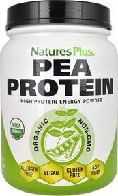 Natures Plus, Organic Pea Protein Powder, 1.10 lbs (500 g)