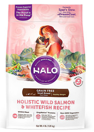 Halo Purely For Pets Spot's Stew Healthy Weight for Small & Toy Breed Adult Dogs Whitefish & Salmon - 4 lbs
