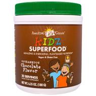 Amazing Grass, Kidz Superfood, Outrageous Chocolate Flavor, 6.35 oz (180 g)