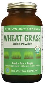 Pure Synergy Organics Wheat Grass Juice Powder -- 5.3 oz