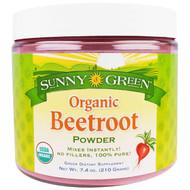 Sunny Green, Organic Beetroot Powder, 7.4 oz (210 g)