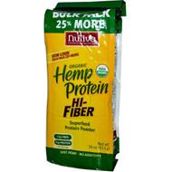 Nutiva Organic Hemp Protein Hi-Fiber - 30 oz