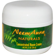 Neemaura Naturals Inc, Concentrated Neem Cream, 2 oz (56 g)