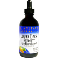Planetary Herbals, Lower Back Support, 4 fl oz (118.28 ml)