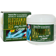 Natures Plus, Advanced Therapeutics, Glucosamine Chondroitin MSM, Ultra R|X-Joint Cream, 4 fl oz (118 ml)
