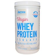 Jarrow Formulas, Virgin Whey Protein Isolate, Powder, Unflavored, 16 oz (450 g)