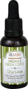 Shea Terra Organics Argan & Green Coffee Eye Serum - 1 fl oz