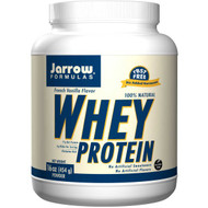 Jarrow Formulas, 100% Natural Whey Protein, Ultrafiltered Powder, French Vanilla Flavor, 16 oz (454 g)