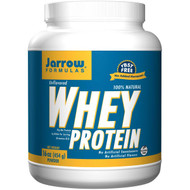 Jarrow Formulas, 100% Natural Whey Protein Powder, Unflavored, 16 oz (454 g)