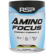 RSP Nutrition, Amino Focus, Energy Formula, Raspberry Limeade, 8 oz (225 g)
