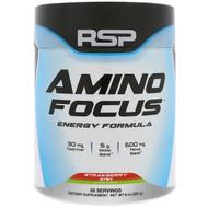 RSP Nutrition, Amino Focus, Energy Formula, Strawberry Kiwi, 8 oz (225 g)