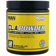 MAN Sports, CLA Powder, Conjugated Linoleic Acid, Dorks, 5.99 oz (170 g)