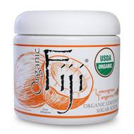 Organic Fiji, Organic Sugar Polish, Lemongrass Tangerine, 20 oz (566 g)