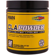 MAN Sports, CLA Powder, Conjugated Linoleic Acid, Sour Batch, 6.26 oz (177.5 g)